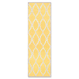 Safavieh Cambridge 2-Foot 6-Inch x 8-Foot Lexie Wool Rug in Gold/Ivory