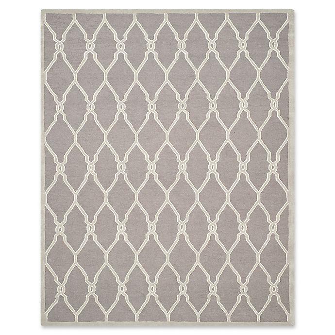 Alternate image 1 for Safavieh Cambridge 9-Foot x 12-Foot Lexie Wool Rug in Dark Grey/Ivory