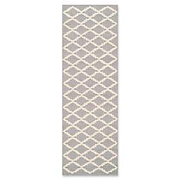 Safavieh Cambridge 2-Foot 6-Inch x 6-Foot Jada Wool Rug in Silver/Ivory