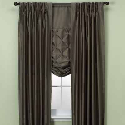 Paris Pinch Pleated Window Curtain Panels Bed Bath Amp Beyond