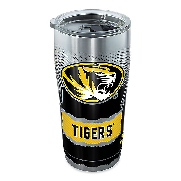 Alternate image 1 for Tervis® University of Missouri 20 oz. Knockout Stainless Steel Tumbler with Lid