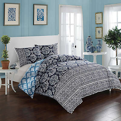 Chic Home Carson Reversible Duvet Cover Set