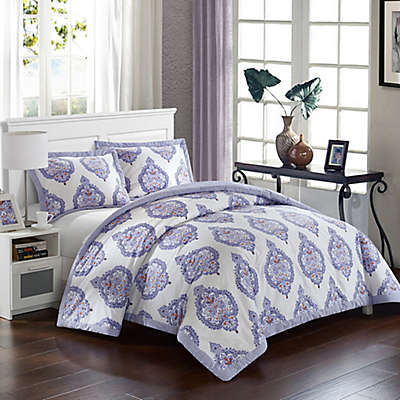 Chic Home Crosby Palace Duvet Cover Set in Lavender