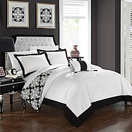 Chic Home Mallow Reversible Duvet Cover Set