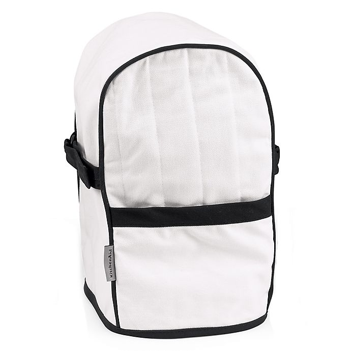 Alternate image 1 for KitchenAid® Quilted Blender Cover with Pocket in White
