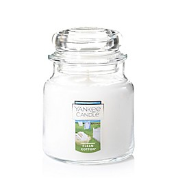 Yankee Candle® Housewarmer® Clean Cotton® Medium Classic Jar Candle