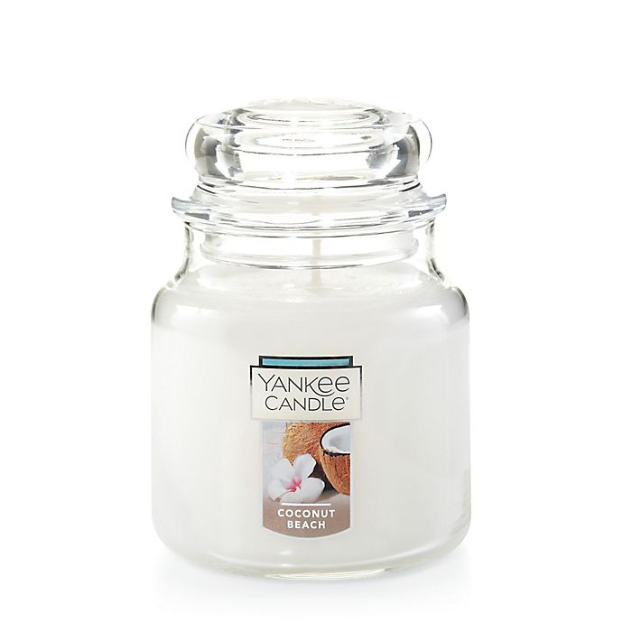 Alternate image 1 for Yankee Candle® Housewarmer® Coconut Beach Medium Classic Jar Candle