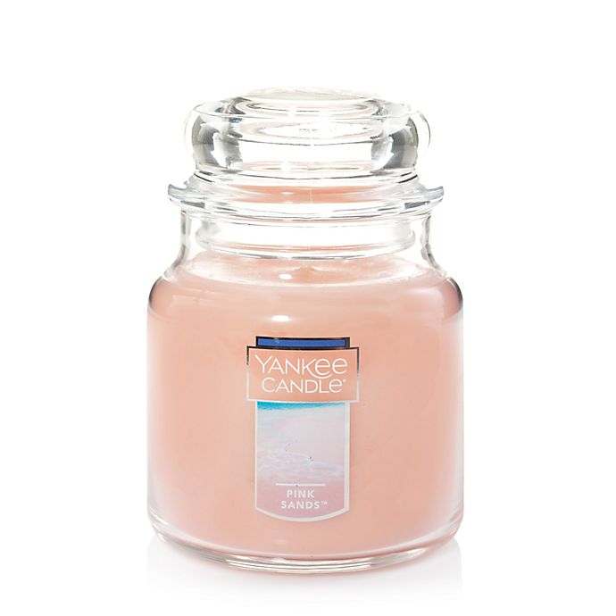 Alternate image 1 for Yankee Candle® Housewarmer® Pink Sands™ Medium Classic Jar Candle
