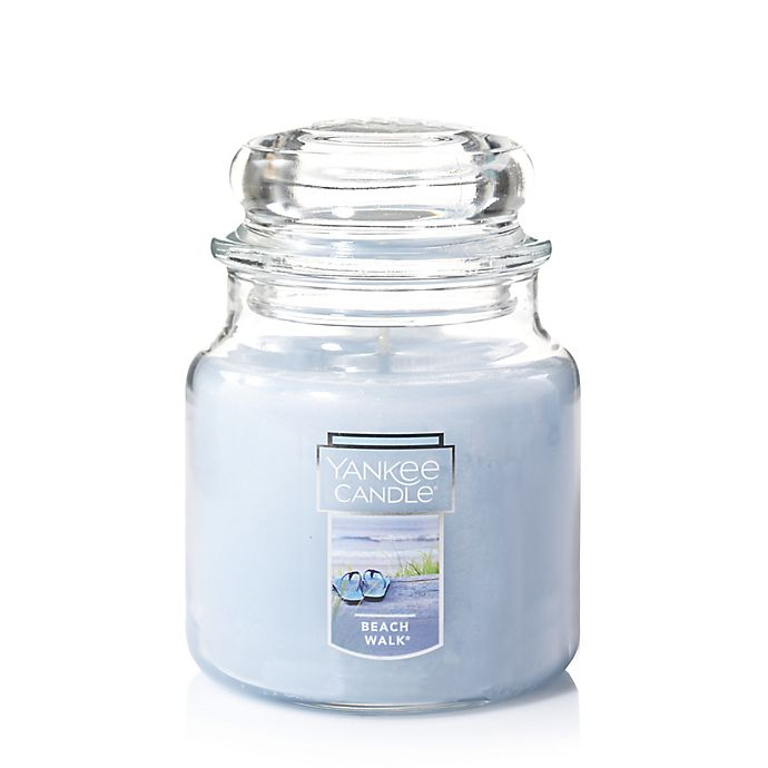 Alternate image 1 for Yankee Candle® Housewarmer® Beach Walk™ Medium Classic Jar Candle