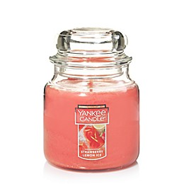 Yankee Candle® Housewarmer® Strawberry Lemon Ice Medium Classic Jar Candle
