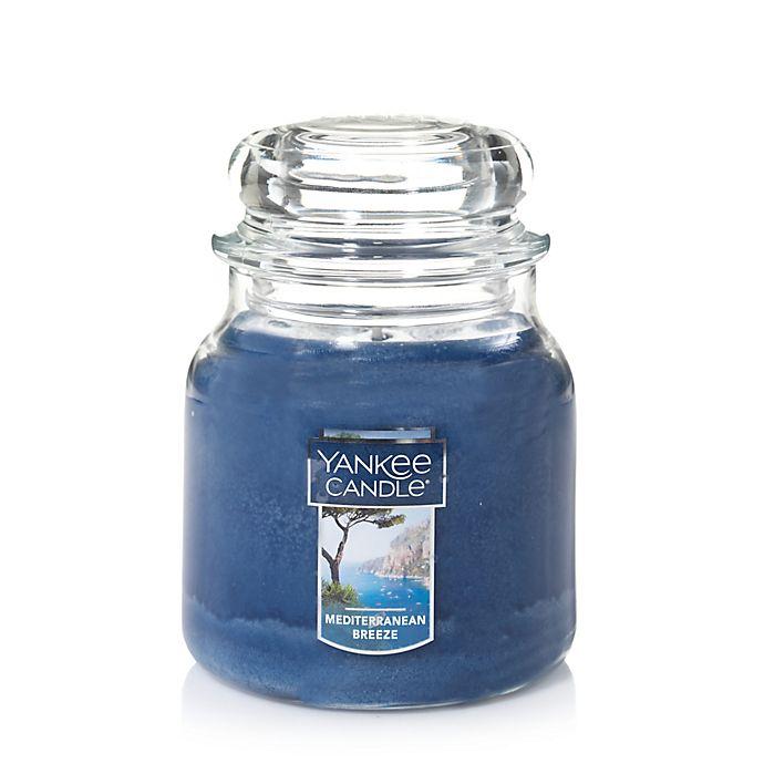 Alternate image 1 for Yankee Candle® Housewarmer® Mediterranean Breeze Medium Classic Jar Candle