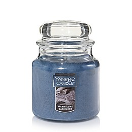 Yankee Candle® Housewarmer® Warm Luxe Cashmere Medium Classic Jar Candle