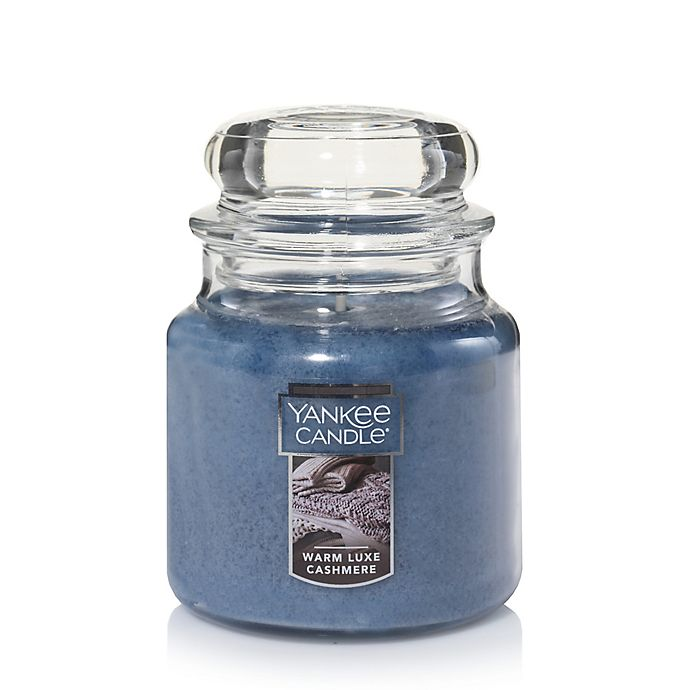 Alternate image 1 for Yankee Candle® Housewarmer® Warm Luxe Cashmere Medium Classic Jar Candle