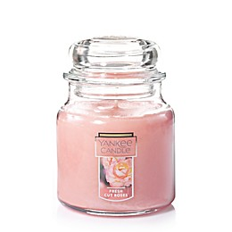Yankee Candle® Housewarmer® Fresh Cut Roses Medium Classic Jar Candle
