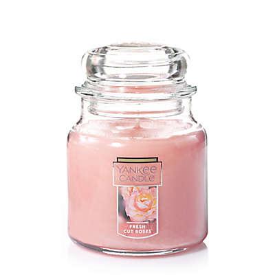 Yankee Candle® Housewarmer® Fresh Cut Roses Medium Classic Jar Candle