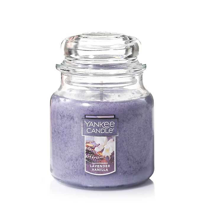 Alternate image 1 for Yankee Candle® Housewarmer® Lavender Vanilla Medium Classic Jar Candle