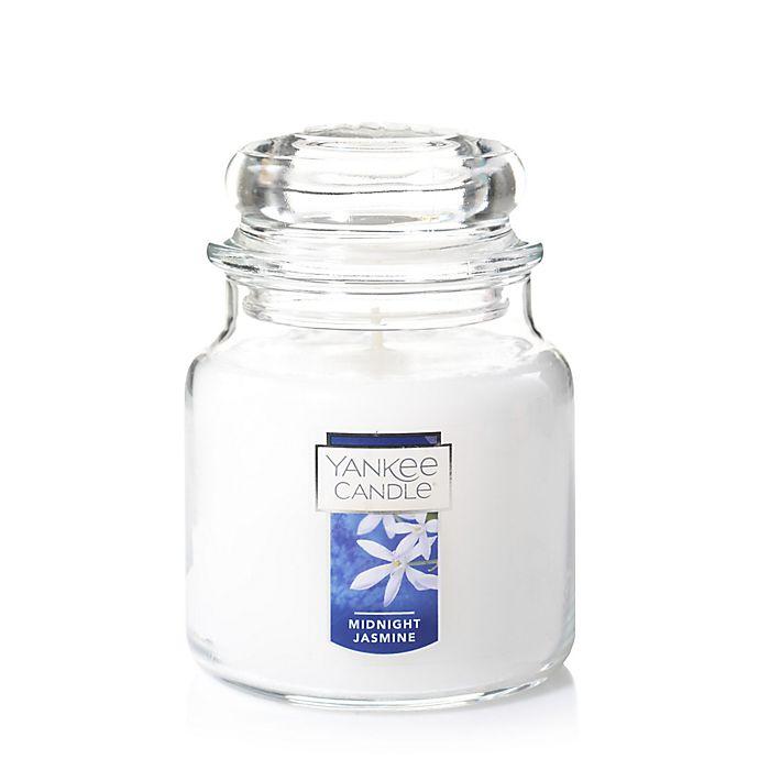 Alternate image 1 for Yankee Candle® Housewarmer® Midnight Jasmine Medium Classic Jar Candle