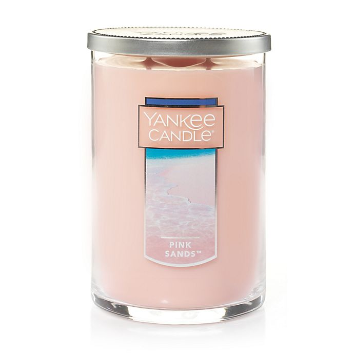 Alternate image 1 for Yankee Candle® Housewarmer® Pink Sands™ Large 2-Wick Tumbler Candle