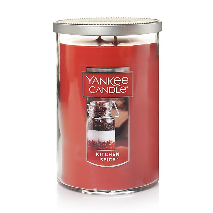 Alternate image 1 for Yankee Candle® Housewarmer® Kitchen Spice™ Large 2-Wick Tumbler Candle