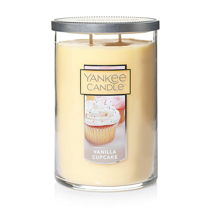 Alternate image 1 for Yankee Candle® Housewarmer® Vanilla Cupcake Large 2-Wick Tumbler Candle