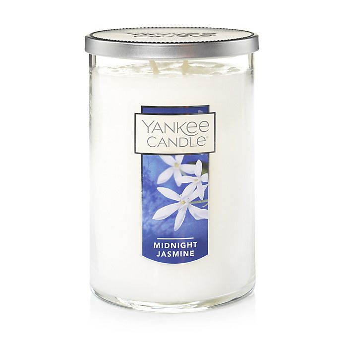 Alternate image 1 for Yankee Candle® Housewarmer® Midnight Jasmine Large 2-Wick Tumbler Candle