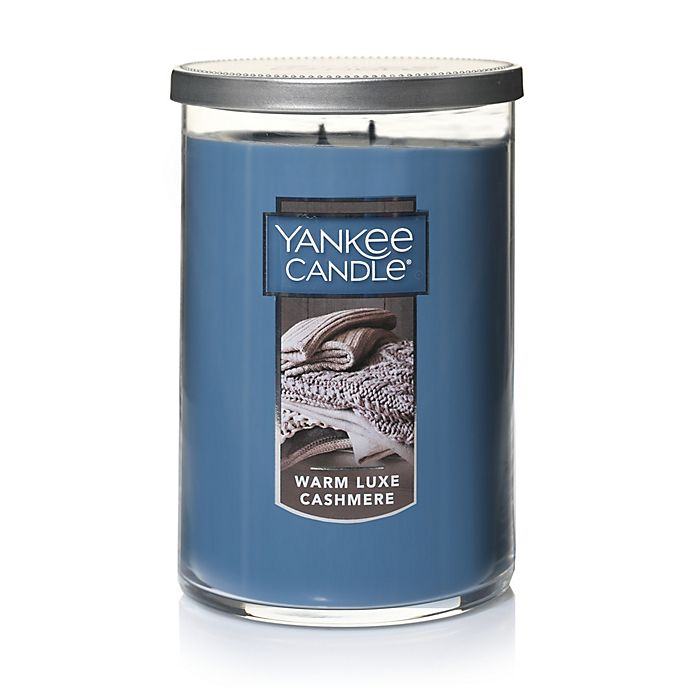 Alternate image 1 for Yankee Candle® Housewarmer® Warm Luxe Cashmere Large 2-Wick Tumbler Candle
