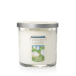 Yankee Candle® Housewarmer® Clean Cotton® Small 2-Wick Tumbler Candle