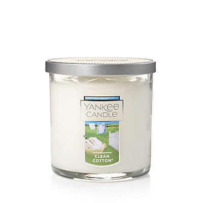 Yankee Candle® Housewarmer® Clean Cotton® Small Tumbler Candle