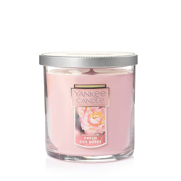 Alternate image 1 for Yankee Candle® Housewarmer® Fresh Cut Roses Small Tumbler Candle