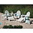Part of the POLYWOOD® Folding Adirondack Patio Furniture Collection