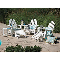 POLYWOOD® Folding Adirondack Patio Furniture Collection