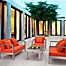 Part of the Zuo® Cosmopolitan Patio Furniture Collection