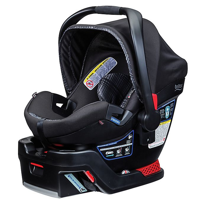Britax B Safe  Elite Infant Car Seat Domino
