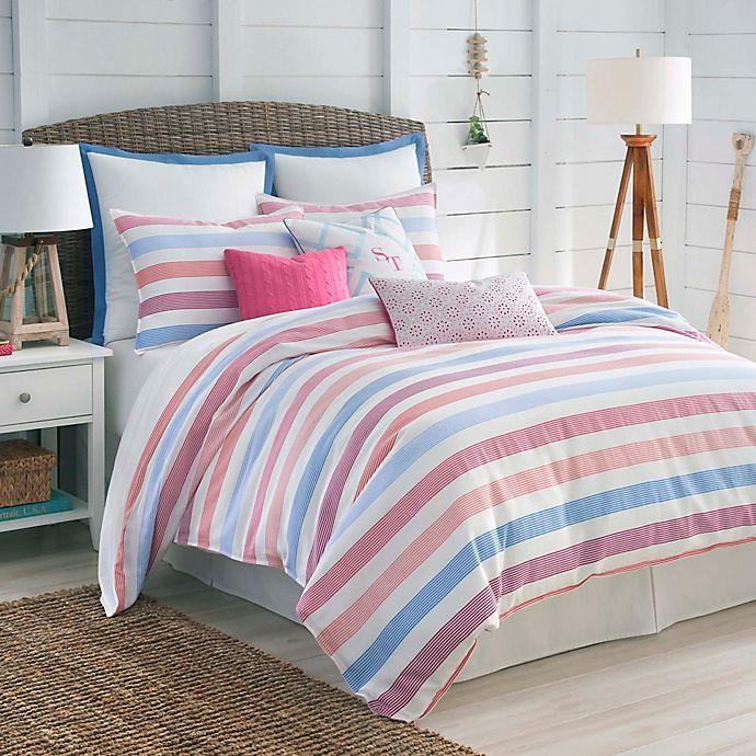 Alternate image 1 for Southern Tide® Long Bay Stripe Comforter Set