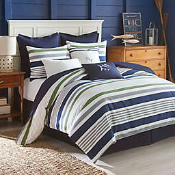 Southern Tide® Sullivan Stripe Queen Comforter Set in Blue