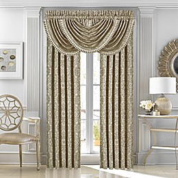 J. Queen New York™ Mirabella Waterfall Window Valance in Beige