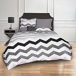Greytone Chevron Comforter Set
