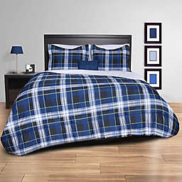 Striking Plaid Comforter Set