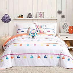 Urban Playground Painted Tassel Comforter Set