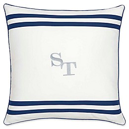 Southern Tide® Sullivan Skipjack Square Throw Pillow in White