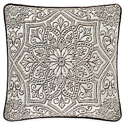 J. Queen New York™ Mirabella Square Throw Pillow in Beige
