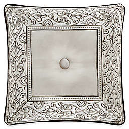 J. Queen New York™ Mirabella Button-Tufted Square Throw Pillow in Beige