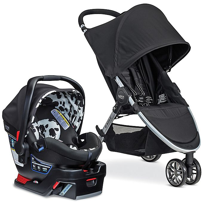 Alternate image 1 for Britax B-Agile/B-Safe 35 Elite Travel System in Cowmooflage