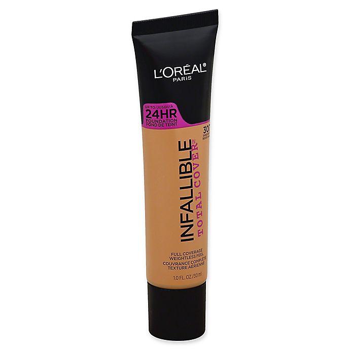 Alternate image 1 for L'Oréal® Infallible Total Cover™ 1 fl. oz. Foundation in Sand Beige
