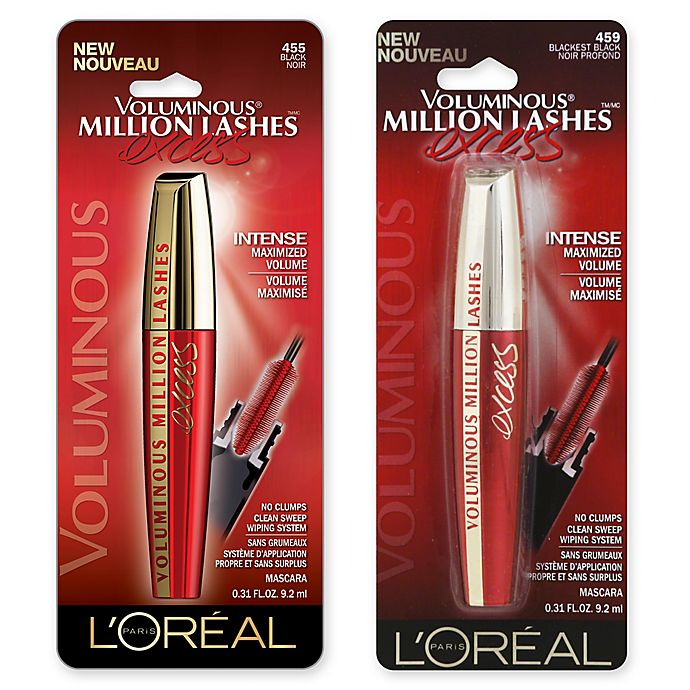 9254b3af442 L'Oreal® Paris .31 oz. Voluminous Million Lashes Excess Mascara ...