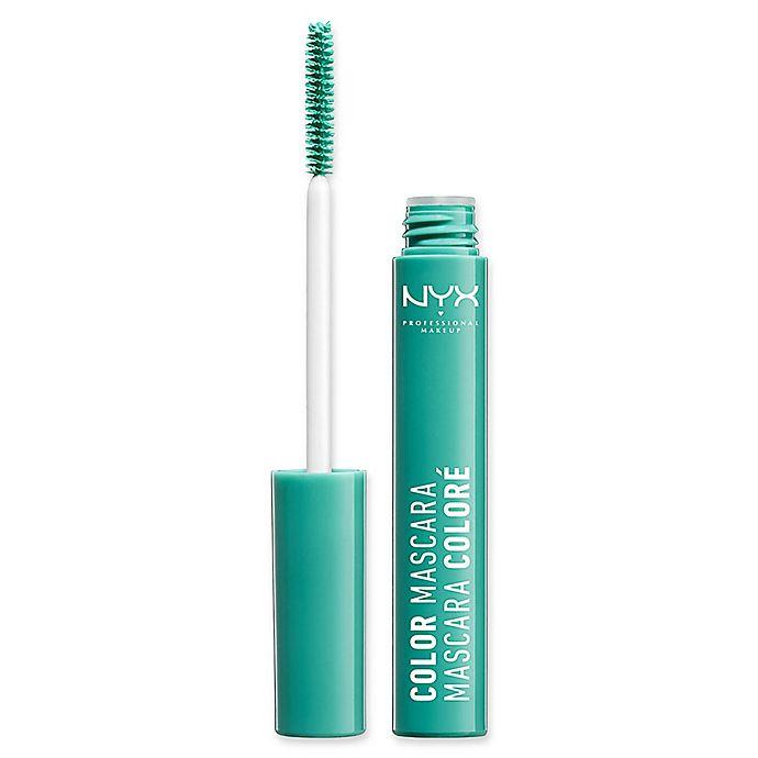 NYX Professional Makeup  32 fl  oz  Color Mascara in Mint