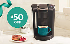 $50 OFF Keurig® K-Select® Coffee Maker thru 12/8.. Shop Now
