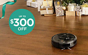 Up to $300 OFF select iRobot® floorcare thru 12/21.. Shop Now