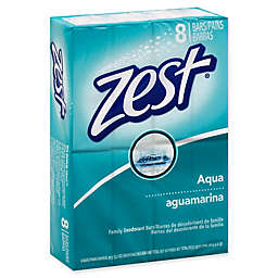 Zest® 8-Pack 3.2 oz. Aqua Family Deodorant Bar Soap