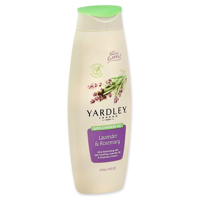 Alternate image 1 for Yardley® London 16 fl. oz. Bath & Shower Gel in Lavender & Rosemary